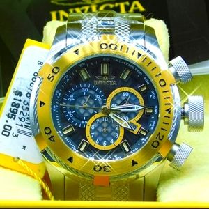 FIRM PRICE-INVICTA BOLT CABLE CHRONOGRAPH WATCH